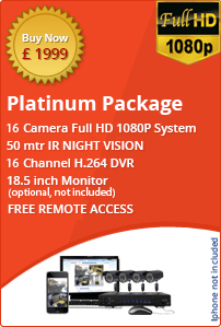 CCTV Platinum Package
